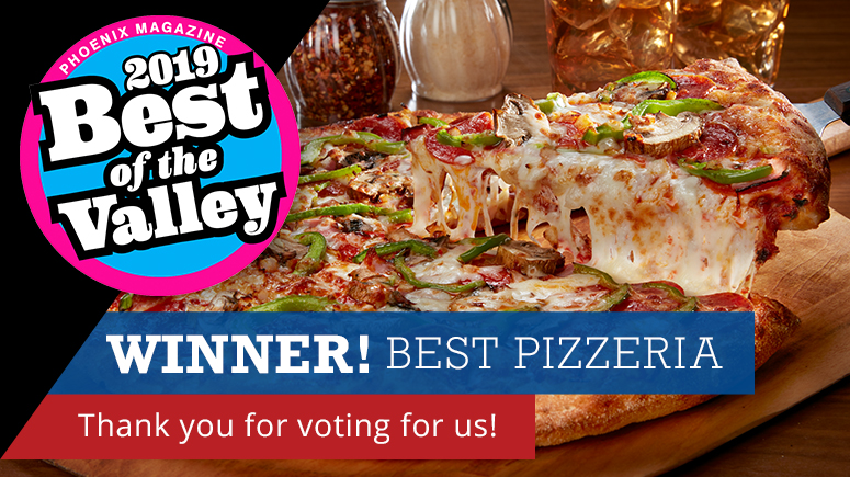 Barro's Pizza: A Family Tradition Since 1980 - Voted Valley's Best