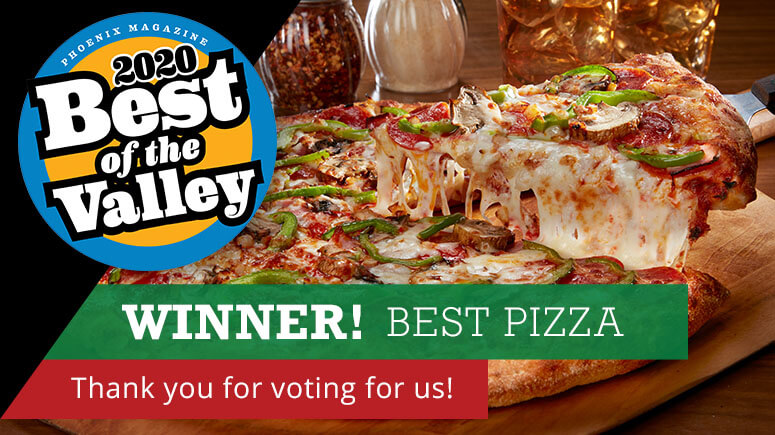 2020 Best of the Valley winner best pizza